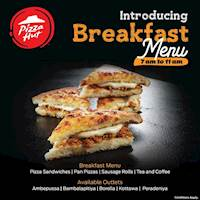 Pizza Hut Sri Lanka: Introducing our all new BREAKFAST MENU!