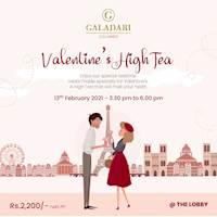Valentine's High Tea at Galadari Hotel