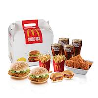 25% off for all HSBC credit cards at McDonald's