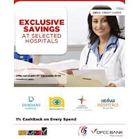 Exclusive healthcare savings with DFCC Credit Cards! Upto 10% OFF on selected health packages at Durdans Hospital, Nawaloka Hospital, Lanka Hospitals & Hemas Hospital