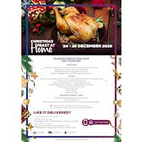 Christmas sharing menu for Rs. 15,000 net for four people at Hilton Colombo Residence