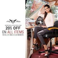 Enjoy 20% Off Exclusively for KF Angel Club Members at Kelly Felder