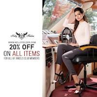 Enjoy 20% Off Exclusively for KF Angel Club Members at Kelly Felder