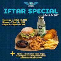 Iftar Special at Street Burger