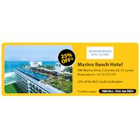 Get 25% Off at Marino Beach Hotel for BOC Credit Cards