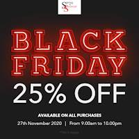 Black Friday Sale - Enjoy an amazing 25% off on all purchases at Spring & Summer