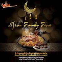 The Sizzle Restaurant Iftar Family Feast