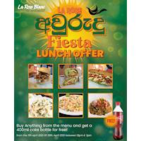 La Rose Avurudu Fiesta Lunch Offer!
