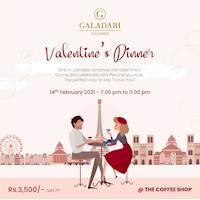 Valentine's Dinner at Galadari Hotel