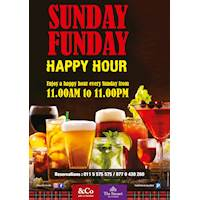 Sunday Funday Happy Hours at The Steuart by Citrus - &Co Pub and Kitchen