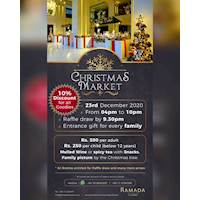 Christmas Market at Ramada - 10% discount on all Christmas goodies.