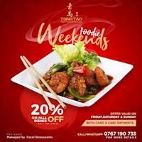 Foodie weekend with Tsing Tao