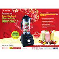 Introducing the Singer High Speed Heavy-Duty Blender