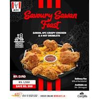 Enjoy the delicious KFC Sri Lanka Savoury Sawan Feast with your friends