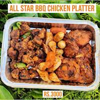 All Star Chicken Platter for Family