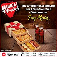 Magical Mondays at Pizza Hut!