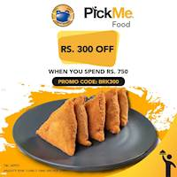 Enjoy Rs.300/- off when you order via PickMe Food from Perera & Sons