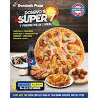 Enjoy 7 favorites in one with Domino's Super 7