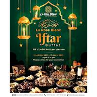 La Rose Blanc Iftar Buffet
