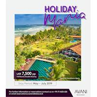 Stay with Avani Bentota Resort and enjoy a special rate of LKR 7,500 per person on full board/ double sharing basis