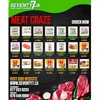 Meat Craze Deals at seventy7.lk
