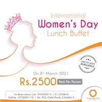Women's Day Lunch Buffet at Mandarina Colombo