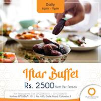 Celebrate the month of Ramadan at Mandarina Colombo with fantastic Iftar Buffet!