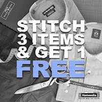 STITCH 3 items and get 1 FREE at Hameedia