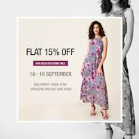 Flat 15% OFF at Nil Store