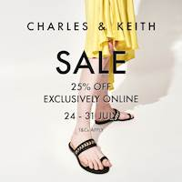 Enjoy 25% off on Charles & Keith Shoes, Handbags, Jewellery, Accessories and much more exclusively at odel.lk/charles-keith/br/70
