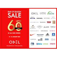 End of Season Sale - Up to 60% OFF at ALL ODEL outlets