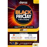 Black Friday SALE at Daraz for BOC Cards