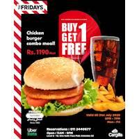 Buy 1 Get 1 FREE at TGI Fridays!