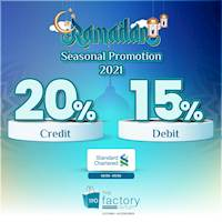Ramadan Seasonal Offers from Standard Chartered Bank at The Factory Outlet