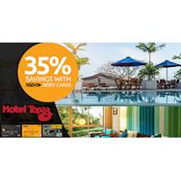 35% Savings with NSB Debit Cards at Hotel Topaz