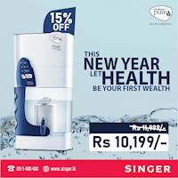 Enjoy a 15% discount on Pureit Classic only at Singer.lk.