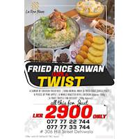 Fried Rice Sawan with Twist for Rs. 2900 at La rose Blanc