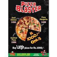 Pizza Blaster at Italian Pizza Express