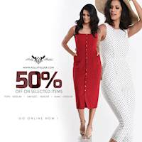 50% Off on selected items at Online Kelly Felder