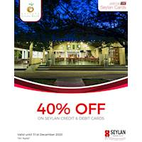 Enjoy 50% off with your Seylan Credit & Debit Card at The Kassapa Lions Rock until the 31st of December 2020.