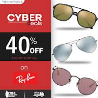 40% OFF on Ray-Ban