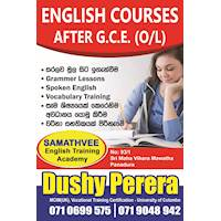 Panadura English Courses After G C E (O/L)