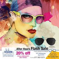 Flash Sale at Vision Care