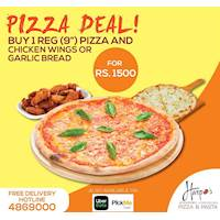 Pizza Deal at Harpo's Pizza