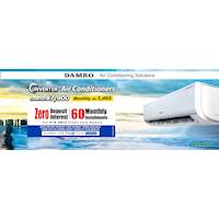 Damro Inverter Air Conditioners from Rs. 87,900