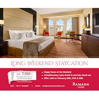 Long Weekend Staycation at Ramada Colombo