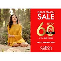 Get up to 60% OFF at Cotton Collection