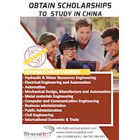 OBTAIN SCHOLARSHIPS TO STUDY IN CHINA