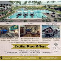 Exciting Room Offers at Suriya Resorts