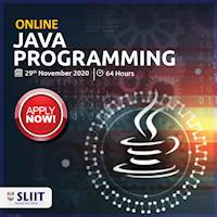 Online Java Programming at SLIIT